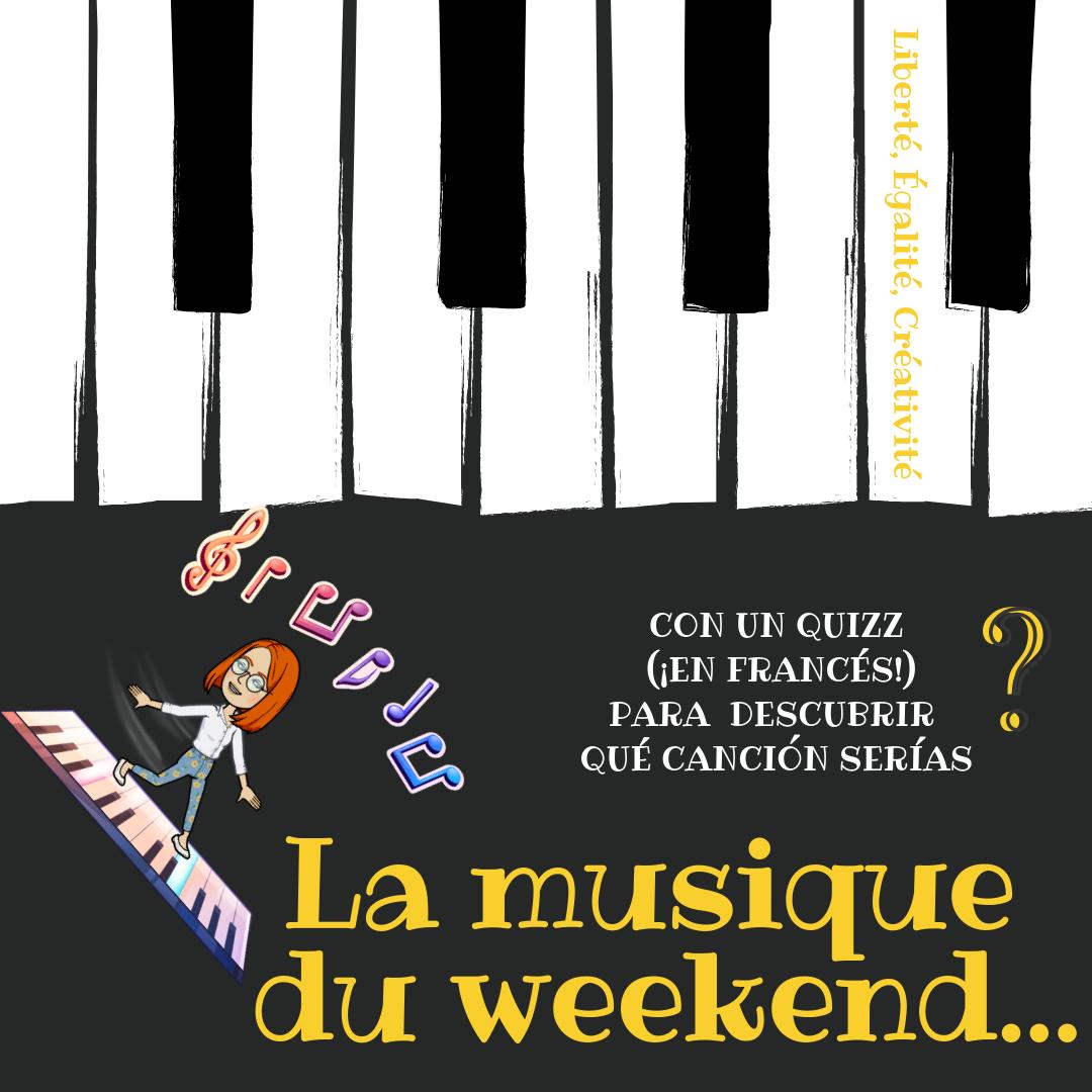La musique du week-end...