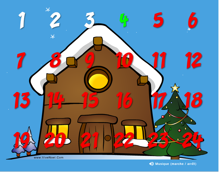 calendrier advent
