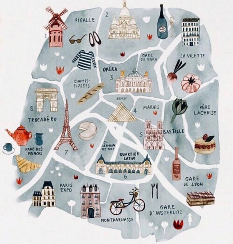 París plano