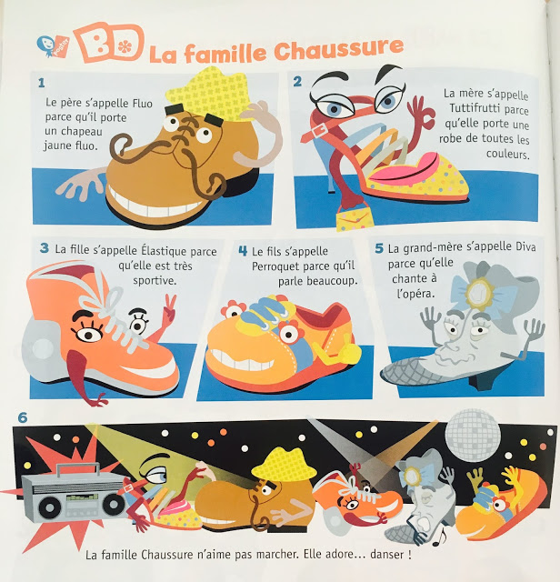 famille chaussure