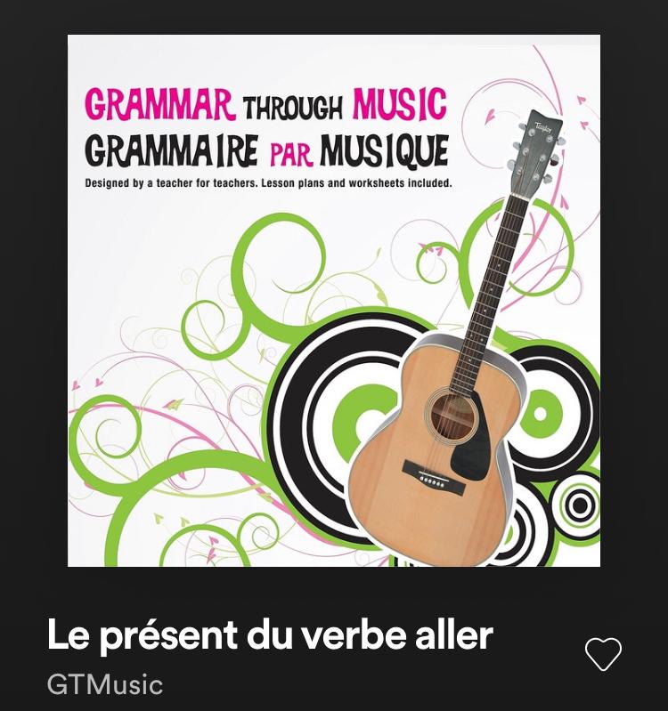 grammaire par musique
