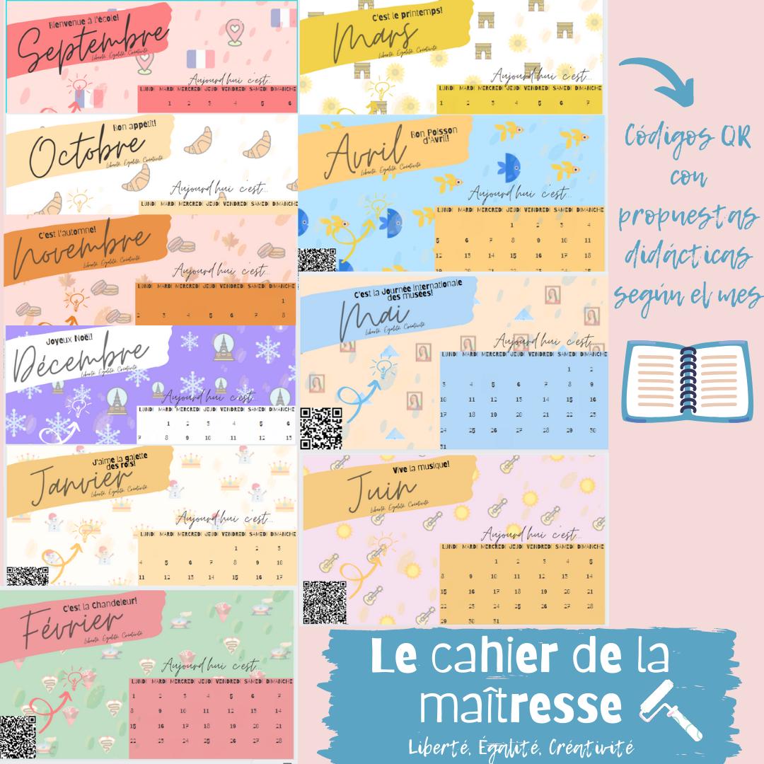 Le cahier de la maîtresse (2)